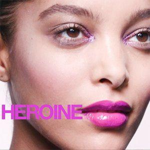 "Last One! NIB MAC ""HEROINE"" lip gloss Lipglass"
